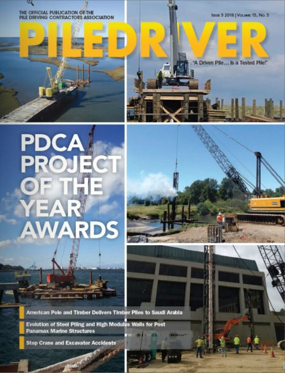 PileDriver Magazine | Pile Driving Contractors Association